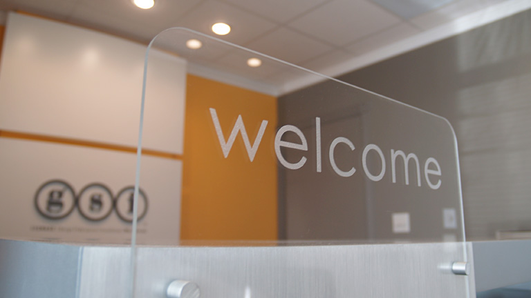 GSI - Welcome Sign